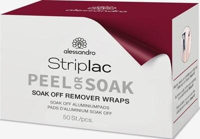 alessandro INTERNATIONAL Nagellackentferner-Pads 'Remover Wraps' in weiß, Produktansicht