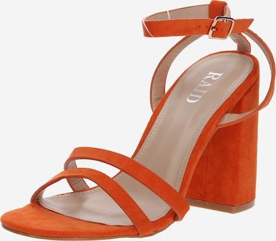 Raid Sandalen met riem 'MEILANI' in de kleur Sinaasappel, Productweergave