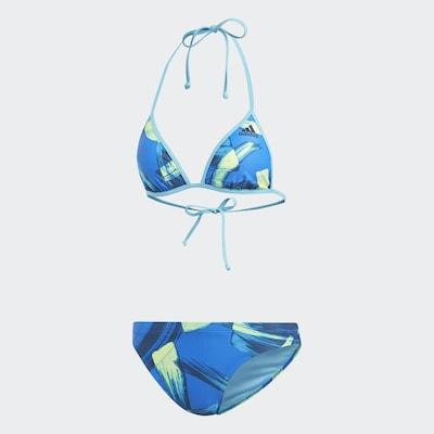 ADIDAS PERFORMANCE Bikini in blau / mischfarben, Produktansicht