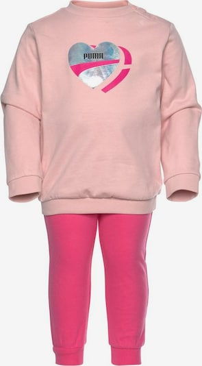 PUMA Jogginganzug in fuchsia / rosa / silber, Produktansicht