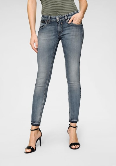 Herrlicher Jeans 'Touch Cropped' in blau, Modelansicht