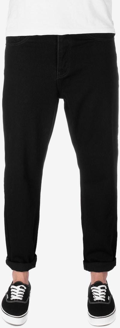 Carhartt WIP Jeans ' Newel ' in de kleur Zwart, Modelweergave