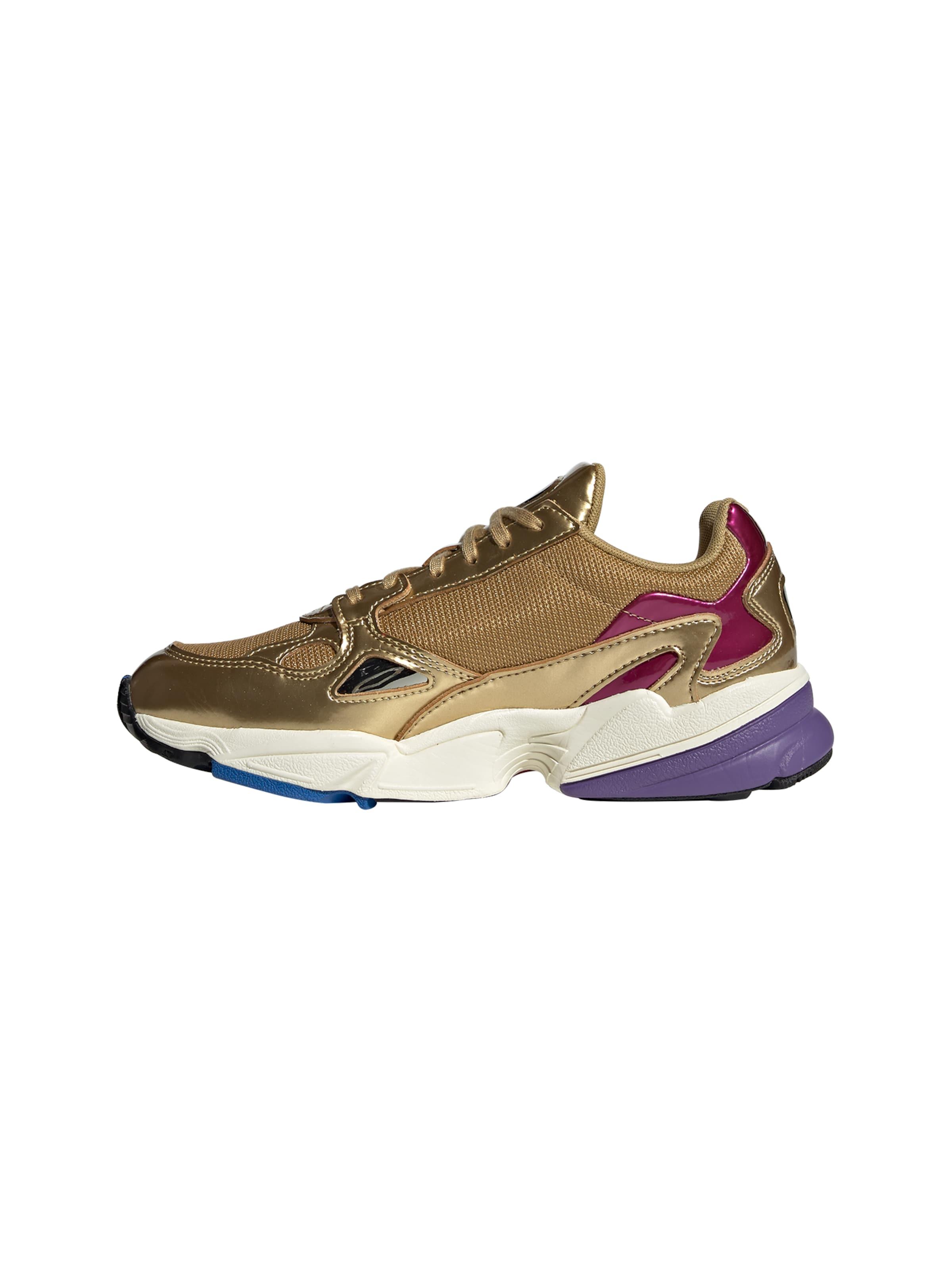 Sneaker GoldWeiß 'falcon' Originals In Adidas lK1c3FTJ