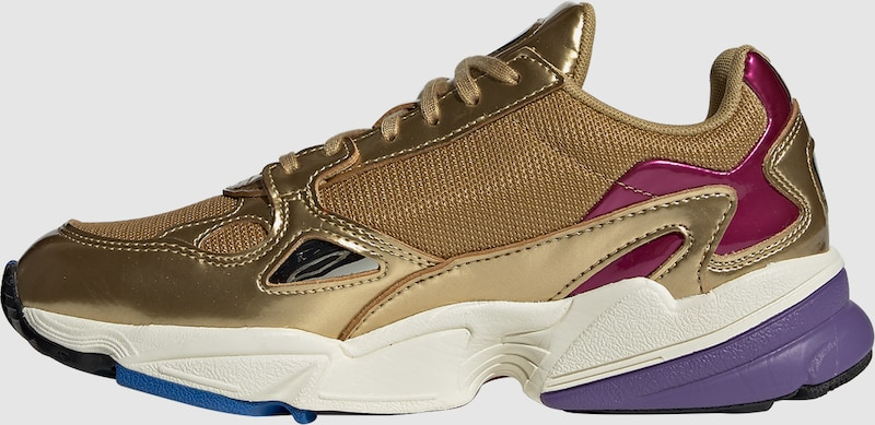 b3b7fea3e3c ADIDAS ORIGINALS Sneakers laag 'Falcon' in Goud / Wit | ABOUT YOU