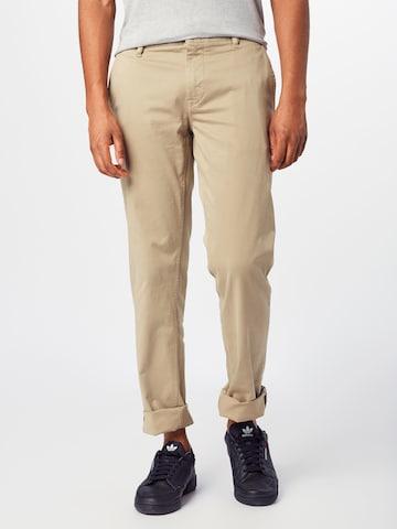 Pantalon chino BOSS Casual en beige
