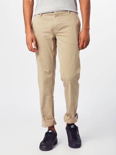 BOSS Chino kalhoty - béžová, Model/ka
