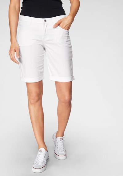 MAC Jeans in de kleur White denim, Modelweergave