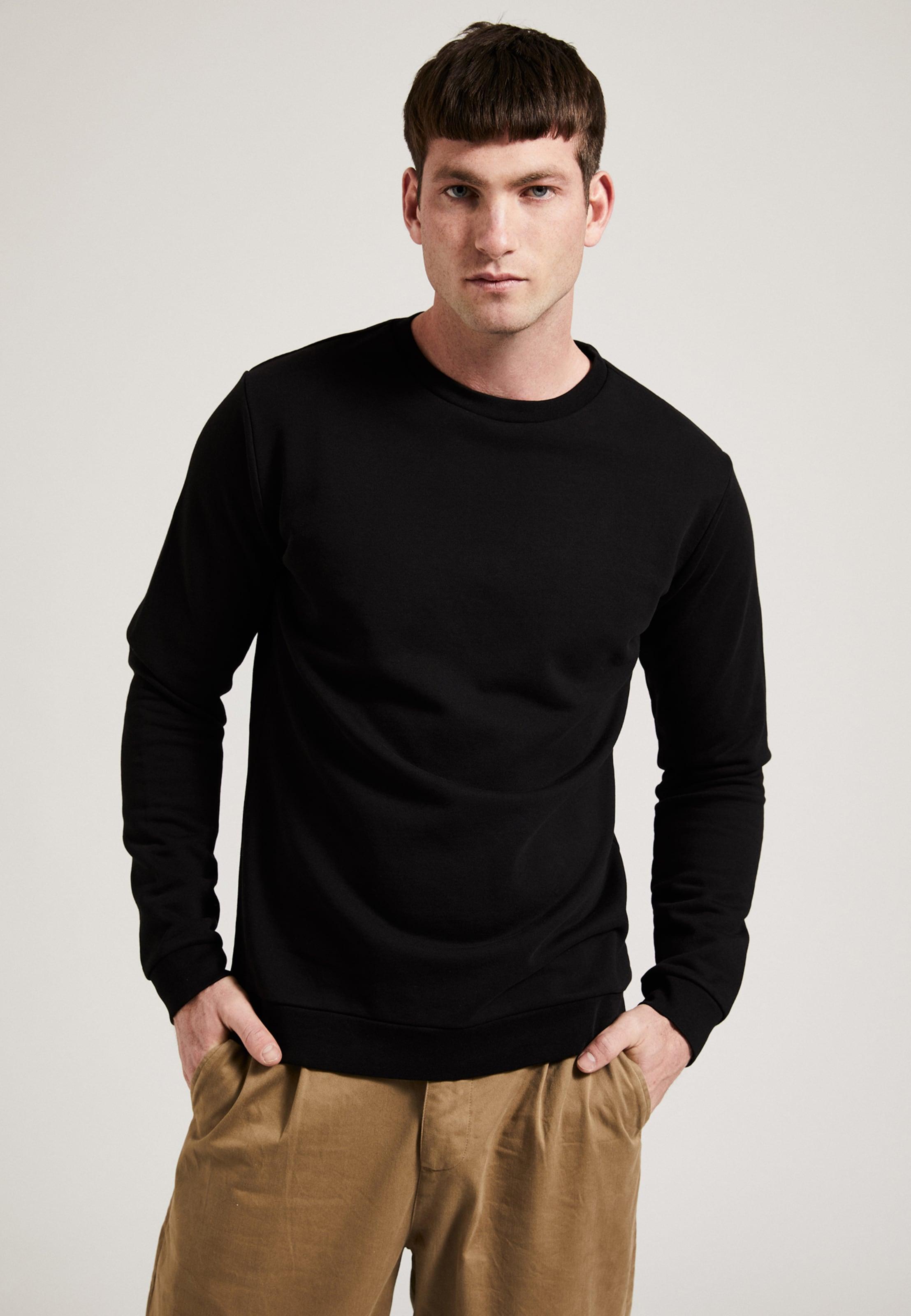 Phyne Sweat shirt En Noir 'gots' mf7I6ybgYv