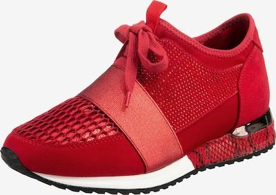 LA STRADA Sneakers Low in rot, Produktansicht