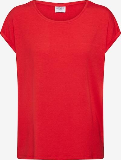 VERO MODA T-Shirt 'AVA PLAIN' in rot, Produktansicht