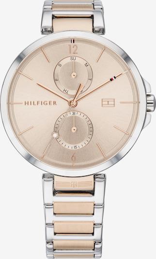TOMMY HILFIGER Uhr in beige / silber, Produktansicht