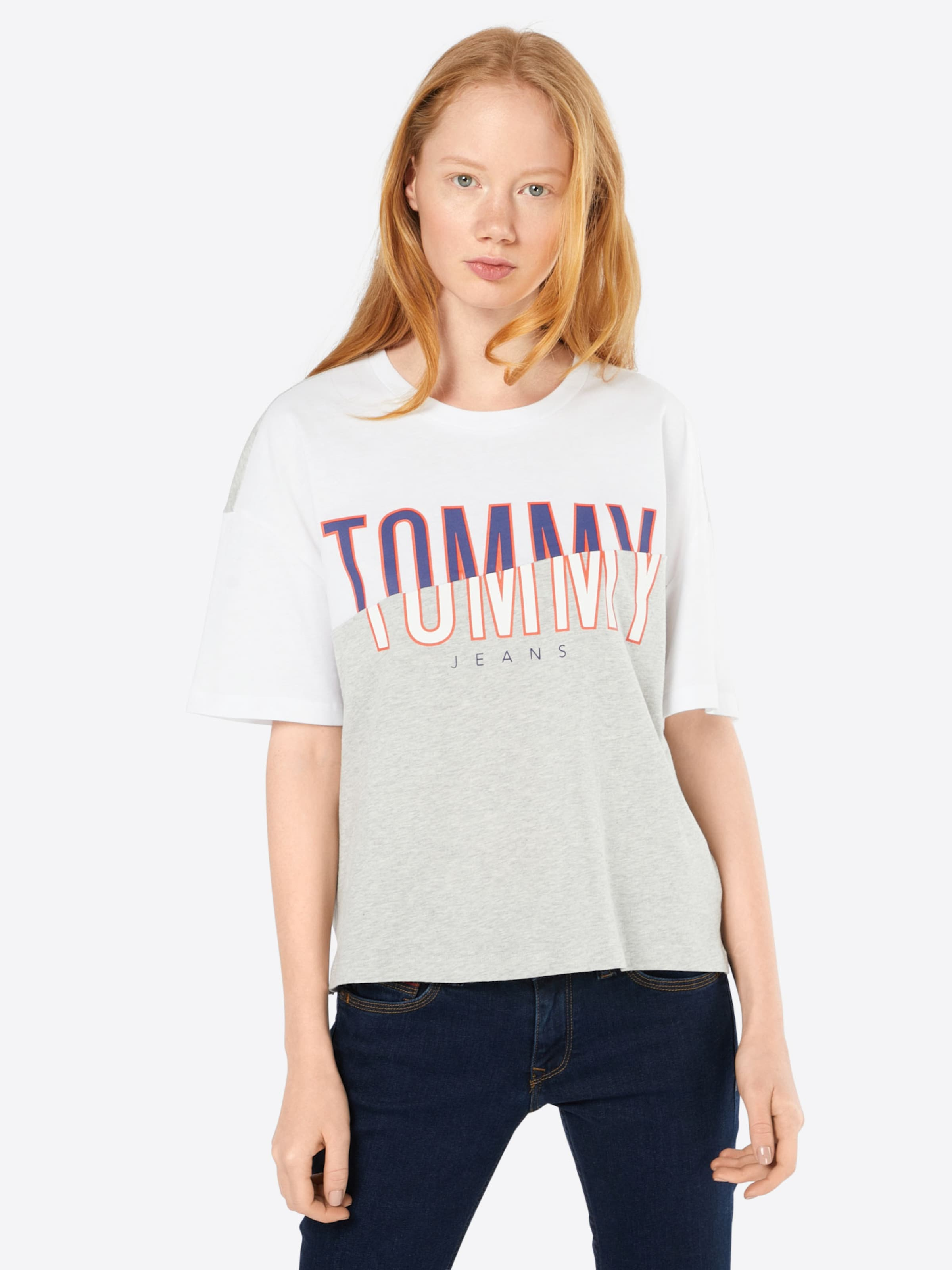 Tommy Jeans Shirt mit Logoprint Extrem Online Va9Zygo9U