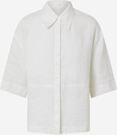 Bluză 'Friedi' OPUS pe alb, Vizualizare produs