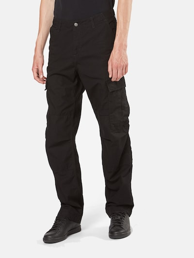 Carhartt WIP Hose 'Regular Cargo Pant' in schwarz, Modelansicht