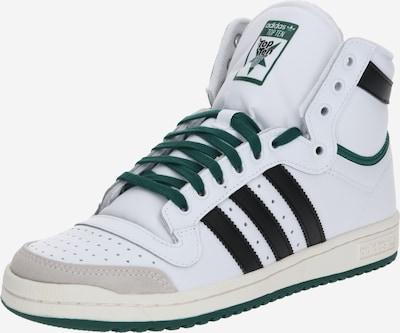 ADIDAS ORIGINALS Sneaker 'TOP TEN HI' in dunkelgrün / schwarz / weiß, Produktansicht