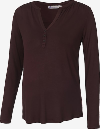 QUEEN MUM Shirt in weinrot, Produktansicht