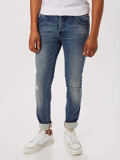 Hailys Men Jeans 'Jake' in blue denim, Modelansicht