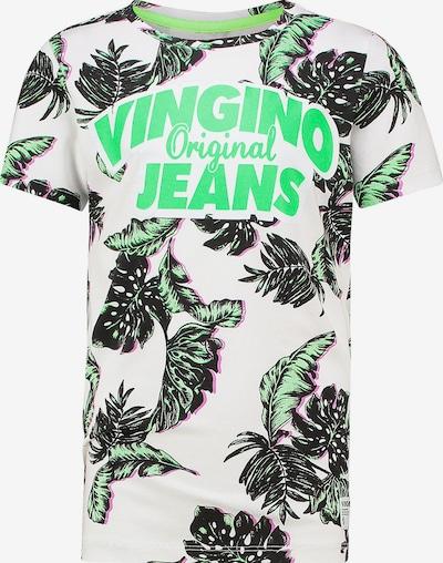VINGINO T-Shirt in grün / weiß, Produktansicht
