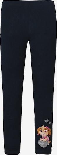 NAME IT Leggings in kobaltblau / braun / pink / silber, Produktansicht