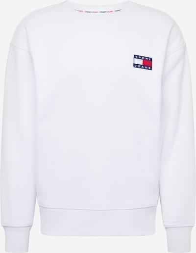 Tommy Jeans Majica | rdeča / bela barva, Prikaz izdelka