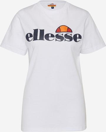 Maglietta 'Albany' di ELLESSE in bianco