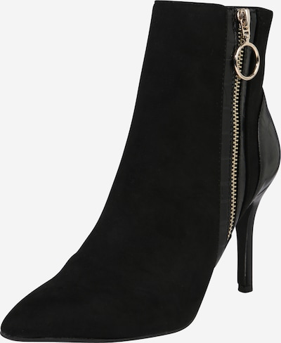 Dorothy Perkins Bottines 'MIX FABRIC BOOT' en noir, Vue avec produit