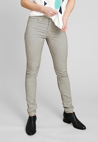 ECHTE Hose in schwarz / weiß, Modelansicht