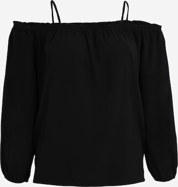 Urban Classics Curvy Shirt in Schwarz