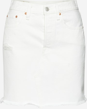 LEVI'S Jeansrock in Weiß