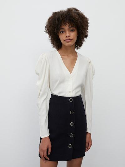 EDITED Blouse 'Rosanna' in de kleur Beige, Modelweergave