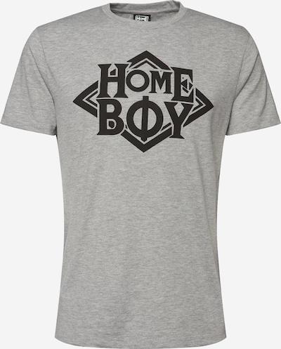 HOMEBOY Shirt 'TAKE YOU HOME TEE' in graumeliert / schwarz, Produktansicht