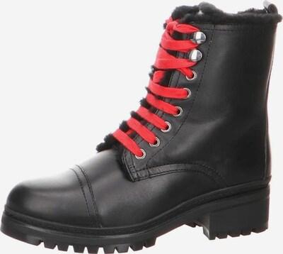 UNISA Stiefelette in rot / schwarz, Produktansicht