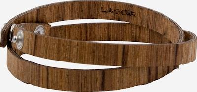 LAiMER Armband 'S1111' in braun, Produktansicht