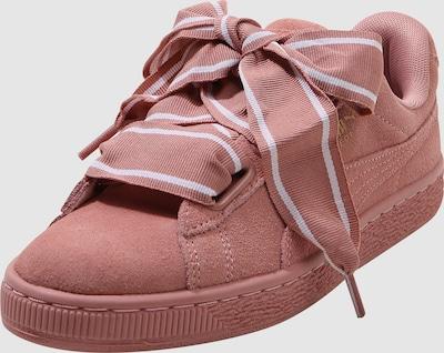 PUMA Sneakers laag 'Heart Satin II' in Koraal
