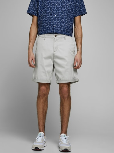 JACK & JONES Shorts in grau, Modelansicht