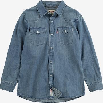 LEVI'S Triiksärk 'Barstow Western Shirt', värv sinine