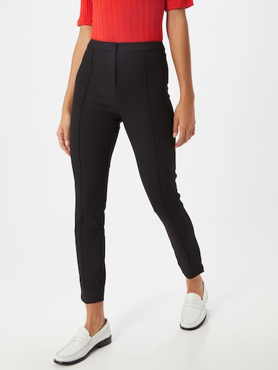 SELECTED FEMME Spodnie 'SLFILUE' w kolorze czarnym: Widok z przodu
