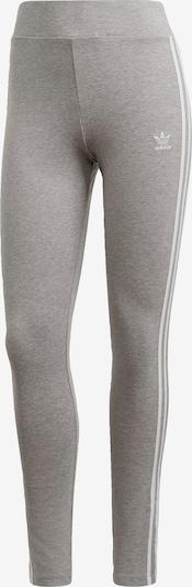 ADIDAS ORIGINALS Leggings in graumeliert / weiß, Produktansicht