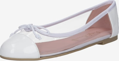 PRETTY BALLERINAS Balerinke | bela barva, Prikaz izdelka