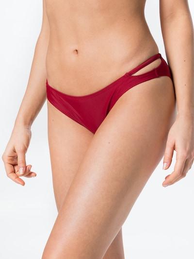 Hunkemöller Bikini biksītes 'Pagoda Rio' sarkans, Modeļa skats