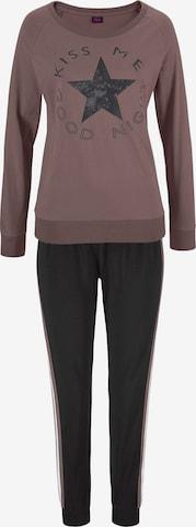 BUFFALO Pajama in Brown