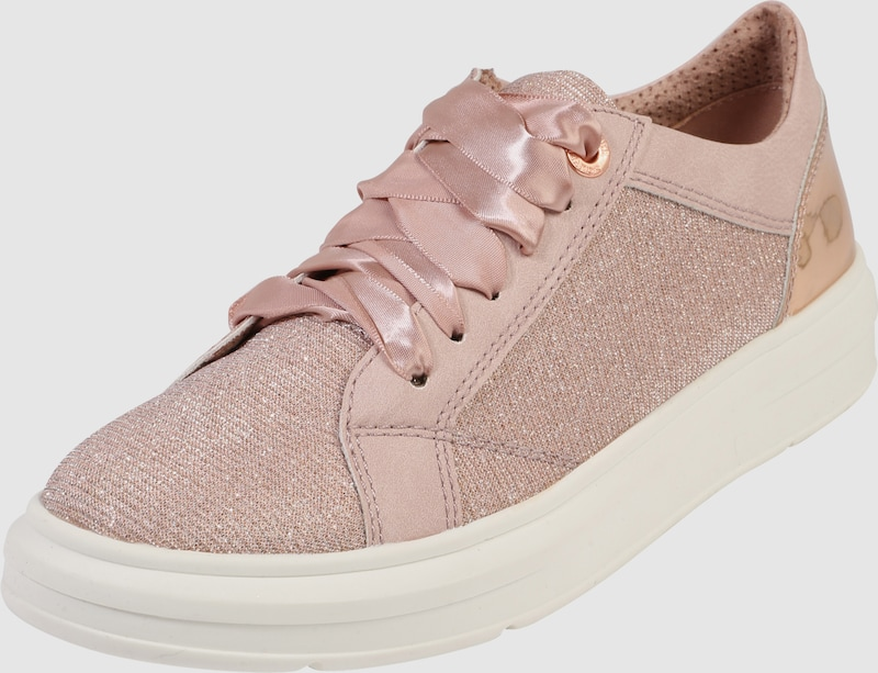 s.Oliver RED LABEL Sneaker mit Glitzerfäden