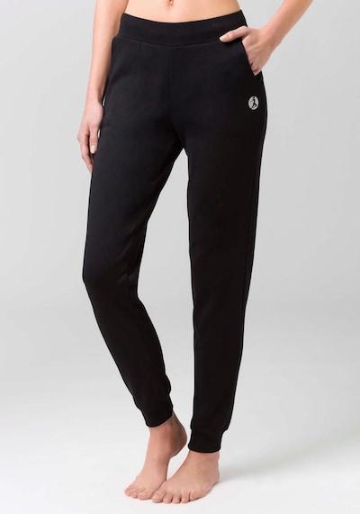 LASCANA ACTIVE Jogginghose in schwarz, Modelansicht