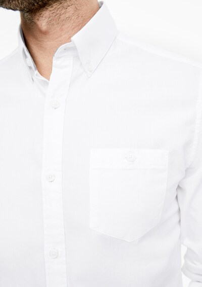 s.Oliver Hemd in weiß: Frontalansicht