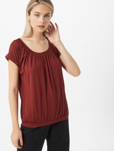 Soyaconcept T-shirt 'MARICA' en rouge rouille: Vue de face