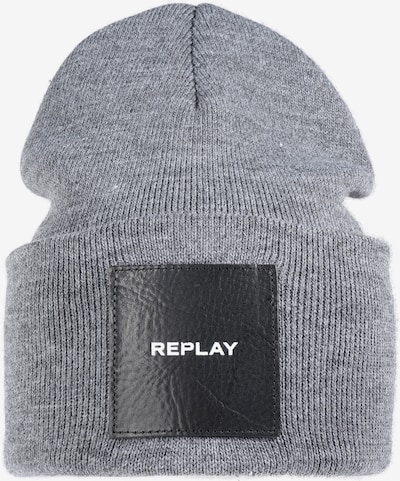 REPLAY Bonnet en gris, Vue avec produit