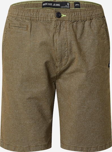 INDICODE JEANS Trousers 'Granby' in Olive, Item view