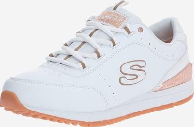 SKECHERS Niske tenisice 'SUNLITE DELIGHTFULLY OG' u rozo zlatna / bijela: Prednji pogled