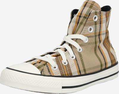 CONVERSE Baskets hautes 'Chuck Taylor All Star' en beige / noir / blanc, Vue avec produit