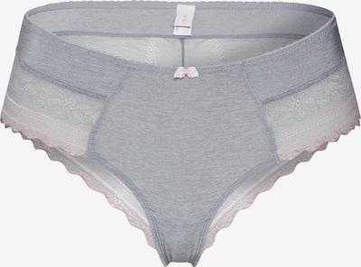 ESPRIT Slip 'FLEUR Bottoms' in hellgrau / rosa, Produktansicht